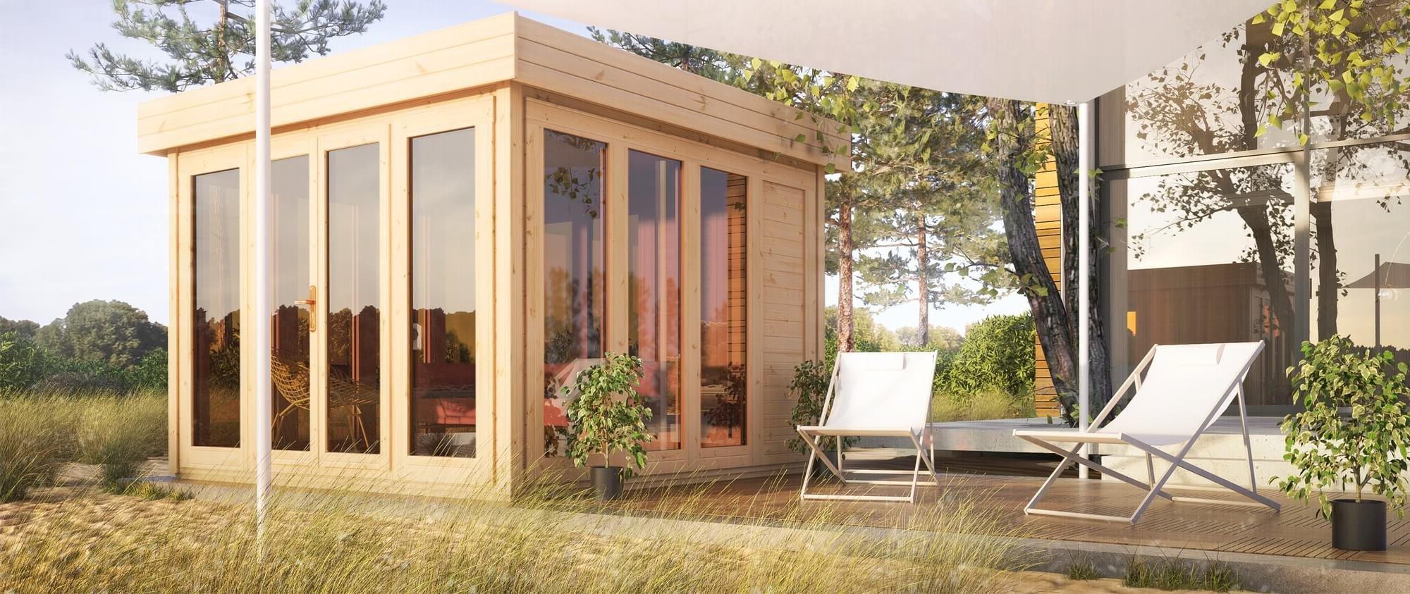Nowoczesne Drewniane Domki Ogrodowe I Narzędziowe Wiaty