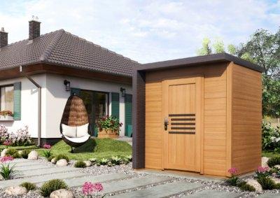 Klasyczny domek ogrodowy